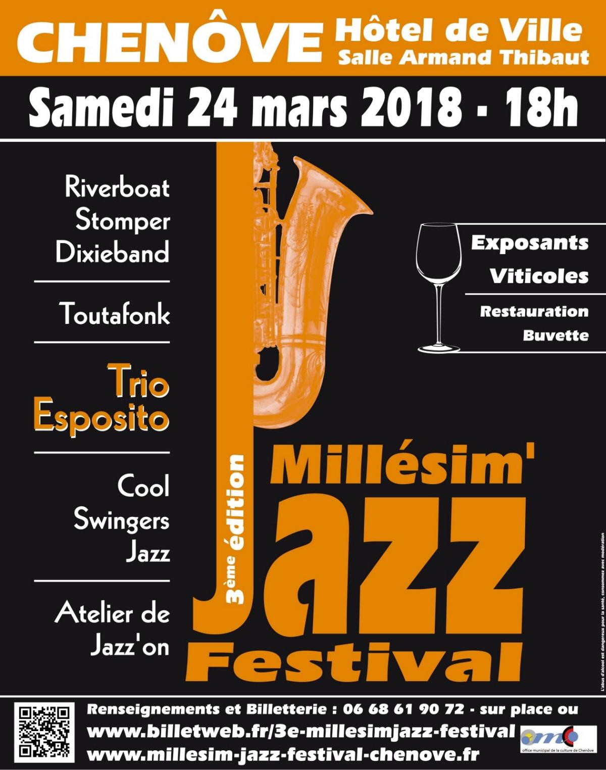 3 me festival de jazz de chen ve samedi 24 mars 2018 18h site internet de la fnasce des. Black Bedroom Furniture Sets. Home Design Ideas